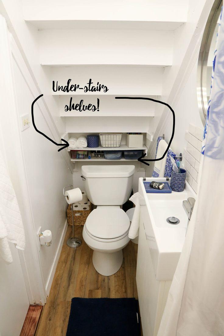 Les 14 Meilleures Images Du Tableau Wc Sous Escalier Sur à Toilette Sous Escalier