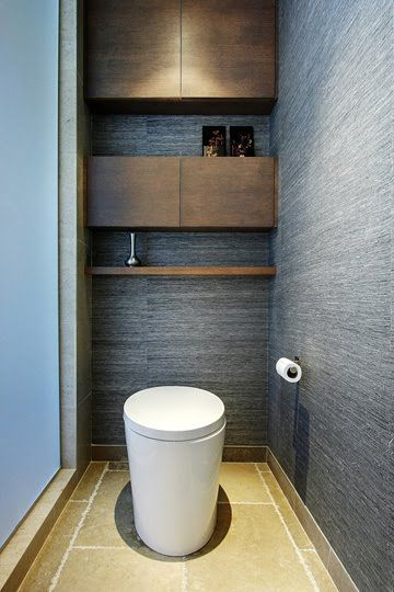 Les 157 Meilleures Images Du Tableau Toilette & Wc Stylés intérieur Toilettes Noires
