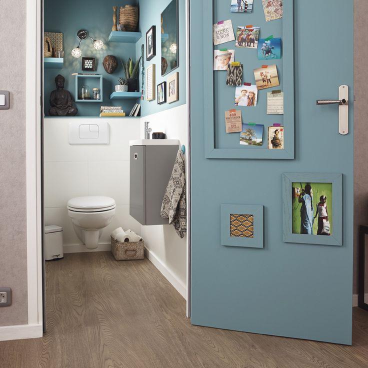 Les 25 Meilleures Idées De La Catégorie Déco Toilettes Sur serapportantà Placard De Toilette