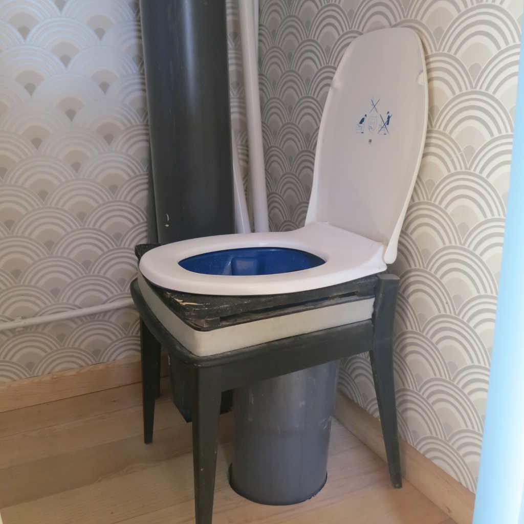 Les Toilettes Sèches À Séparation - Maison Paille serapportantà Toilette Seches