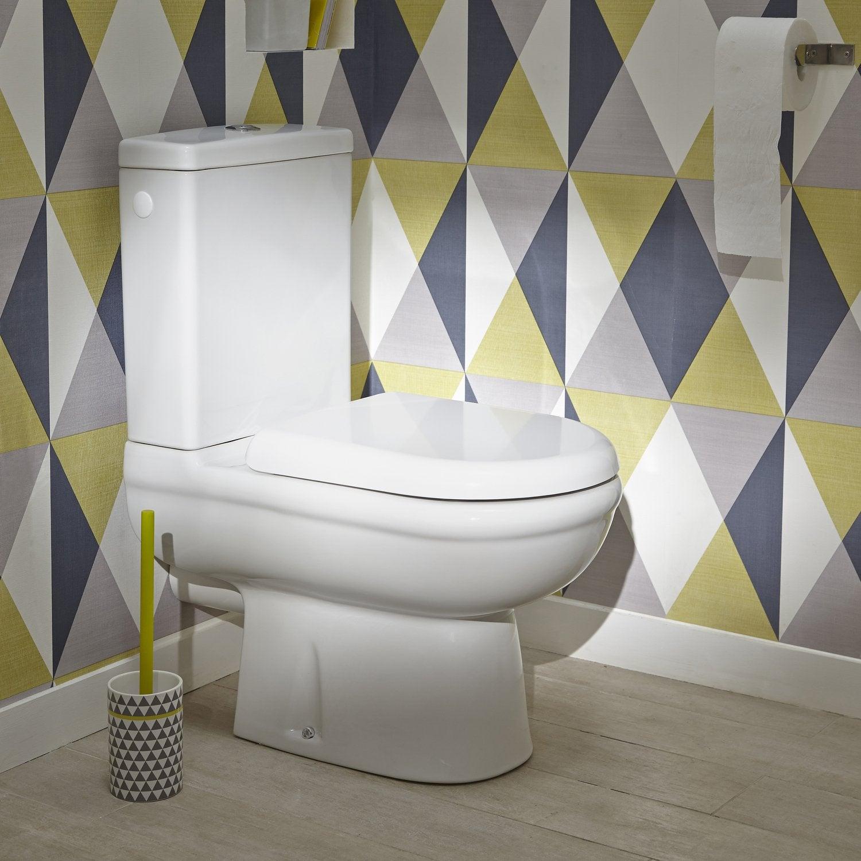 Les Wc Aussi Ont Droit À La Déco   Leroy Merlin intérieur Toilettes Leroy Merlin