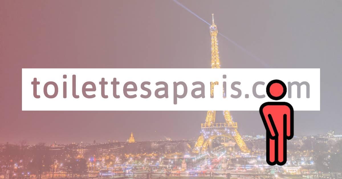 Liste Des Toilettes Publiques À Paris - Toilettesaparis avec Toilette Publique Paris