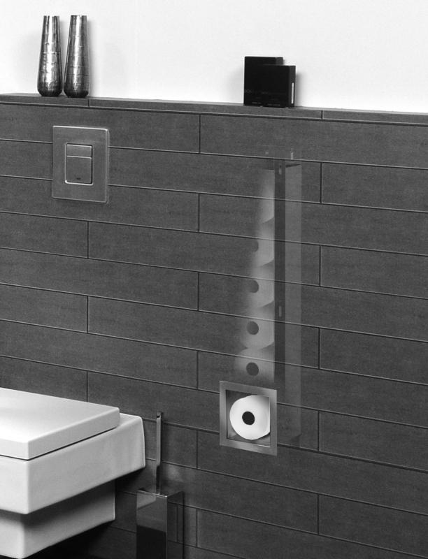 Looox Closed Porte Rouleau De Papier Toilette Pour 6 encequiconcerne Porte Papier Toilette Design