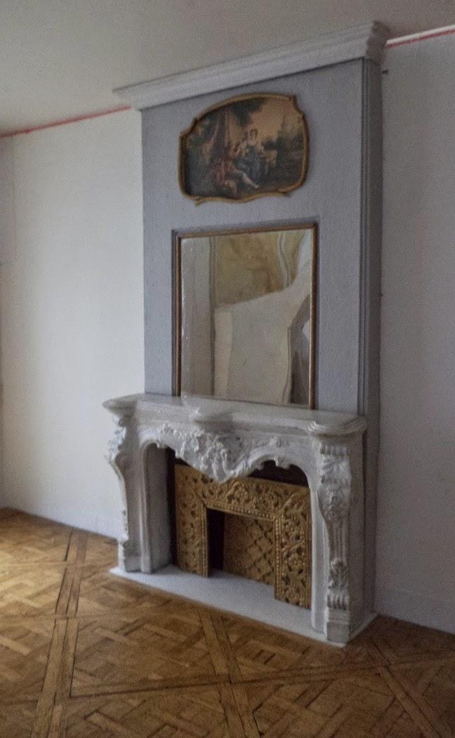 Maison Française 1/12: Parquet-Moulures-Cheminée avec Cheminée En Carton Fiche Technique