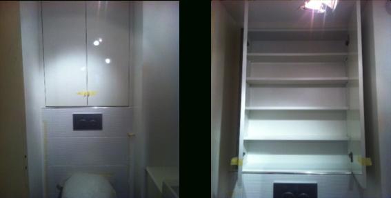 Menuiserie Intérieure   Acr Rénovation pour Placard Toilette