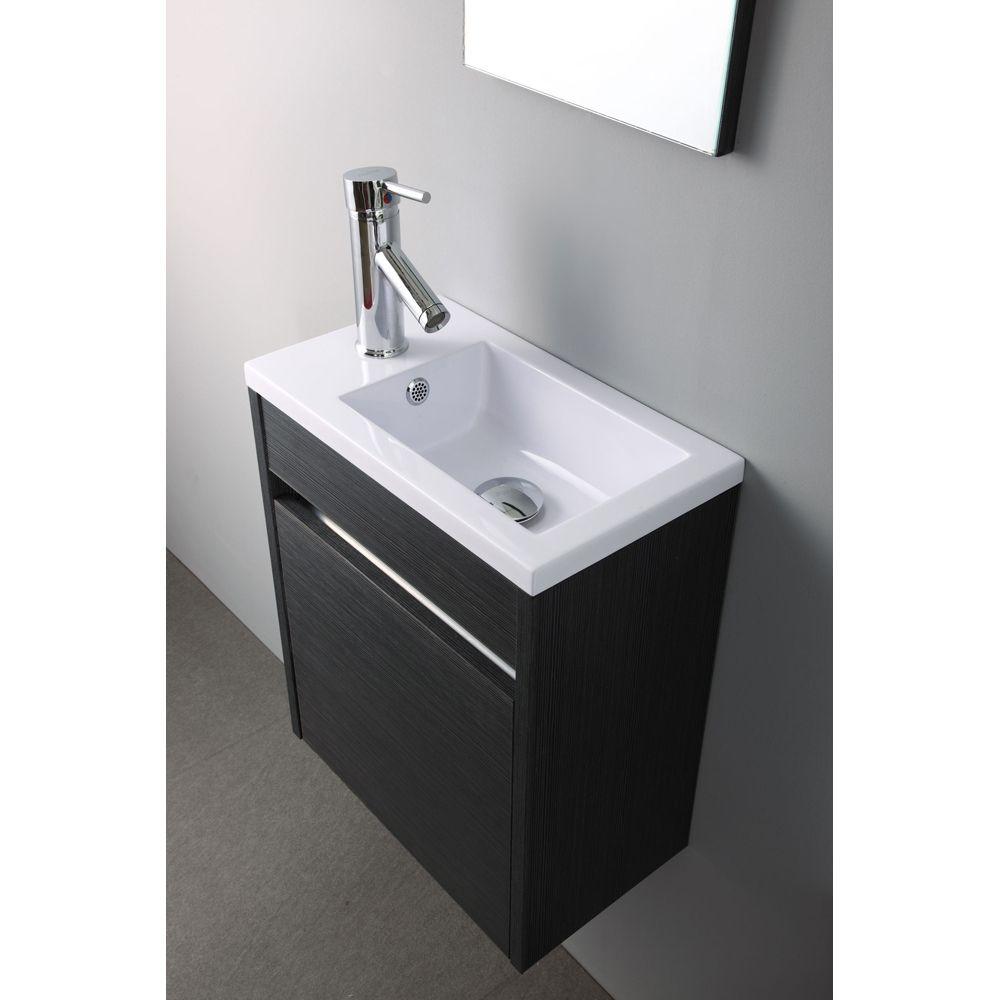 Meuble Lave-Mains Pacific Gris Http://Www.bricorama.fr intérieur Toilette Suspendu Pas Cher