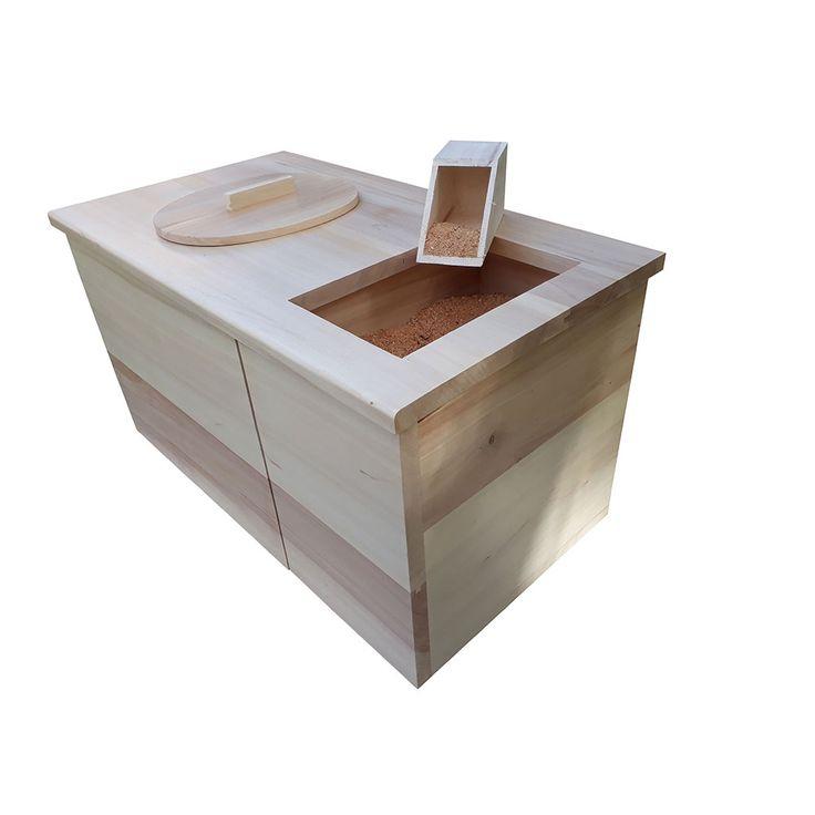 Meuble Toilette Sèche D'intérieur, Avec Réservoir À Sciure à Toilette Seche Interieur