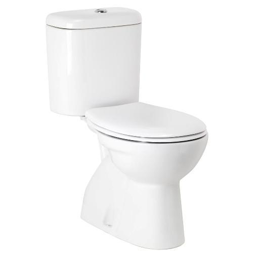 Modecor Toilet Suites: Porcher Heron Close Coupled Toilet concernant Toilette Porcher