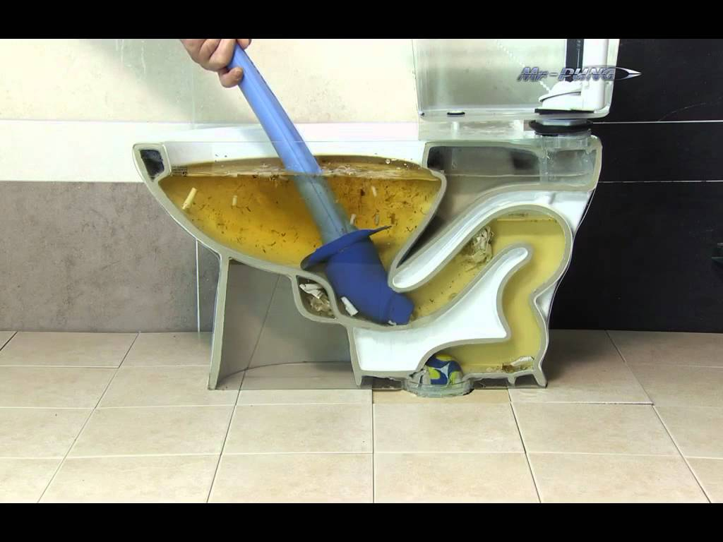 Mr Pung : Le Déboucheur De Toilettes De L'Extrême Pour Les pour Toilettes Bouchés