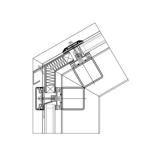 Mur Rideau Et Verrière Systèmes Acier | Stabalux Ak-S encequiconcerne Rideau Dwg