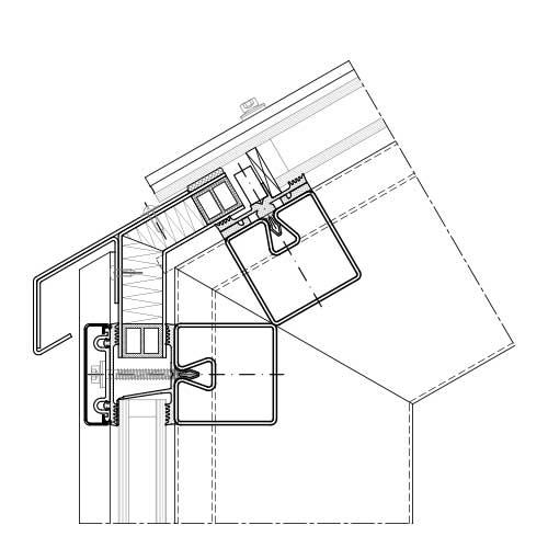 Mur Rideau Et Verrière Systèmes Acier | Stabalux Sr intérieur Rideau Dwg