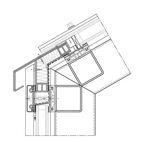 Mur Rideau Et Verrière Systèmes Acier | Stabalux Zl-S à Rideau Dwg