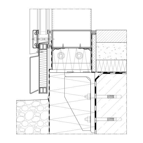 Mur Rideau Et Verrière Systèmes Acier   Stabalux Zl-S pour Rideau Dwg