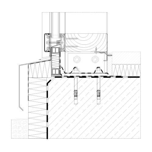 Mur Rideau Et Verrière Systèmes Bois | Stabalux Ak-H à Rideau Dwg