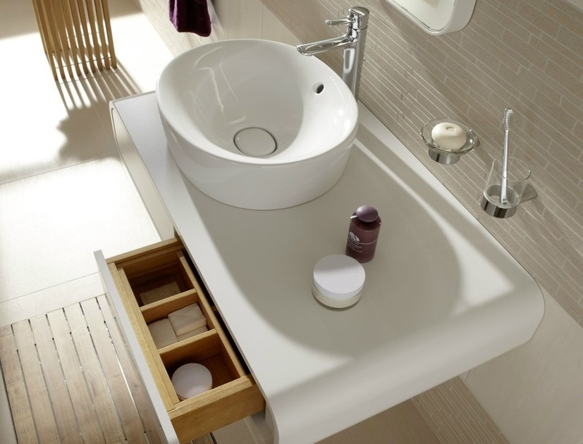 Nc | Plan De Toilette Simple By Toto concernant Plan De Toilette Bois