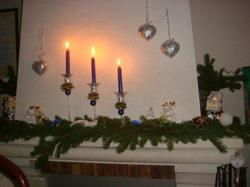 Noël, Ma Déco Sur La Cheminée - Blog De Perrine53 pour Cheminée De Noel