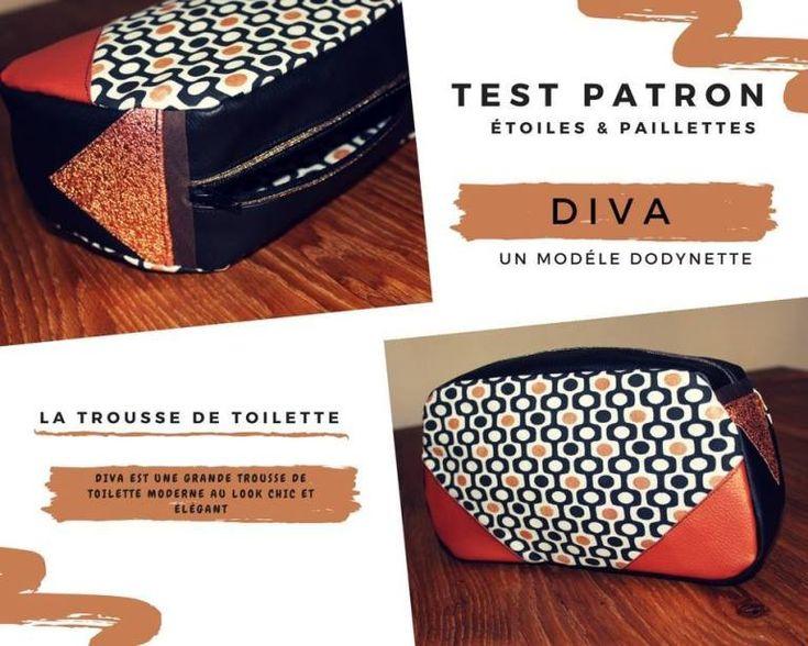 Nouveau Patron Couture : La Trousse De Toilette Diva concernant Trousse Toilette Nouveau Né