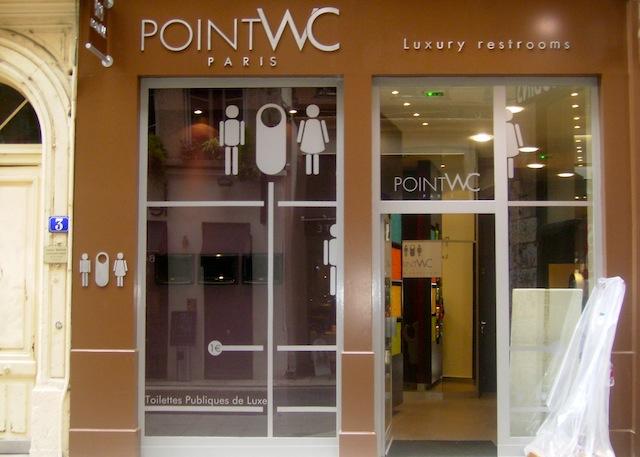 Nouveauté : Des Toilettes Publiques De Luxe À Lyon à Toilette Publique Paris
