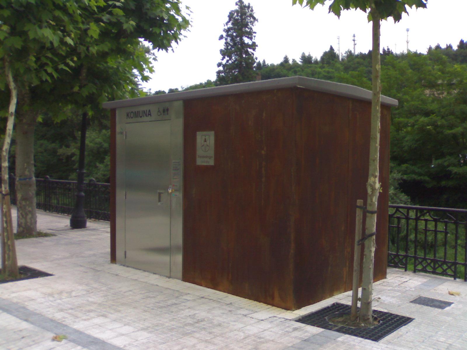Nouvelle Toilette Muskiz | Toilettes Publiques encequiconcerne Toilettes Publics