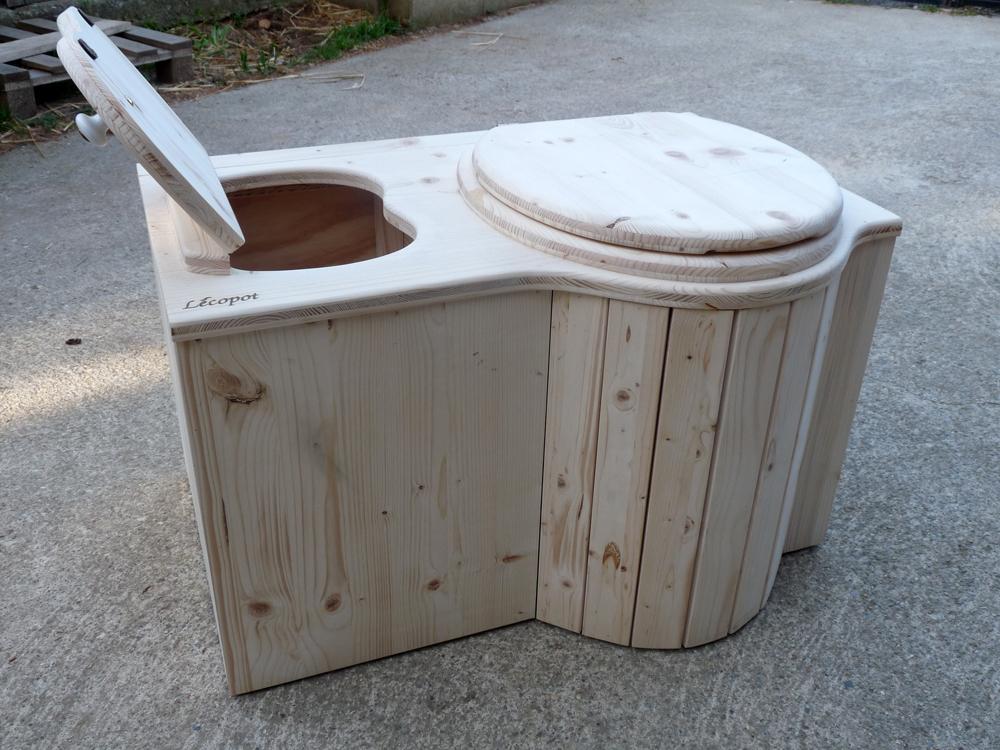 On A Testé : Les Toilettes Sèches De L'Entreprise Lécopot serapportantà Toilette Seche Achat