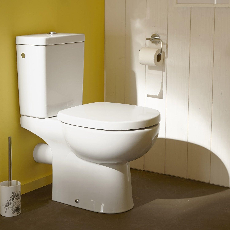 Pack Wc À Poser Sortie Horizontale, Ideal Standard dedans Toilette Suspendu Leroy Merlin