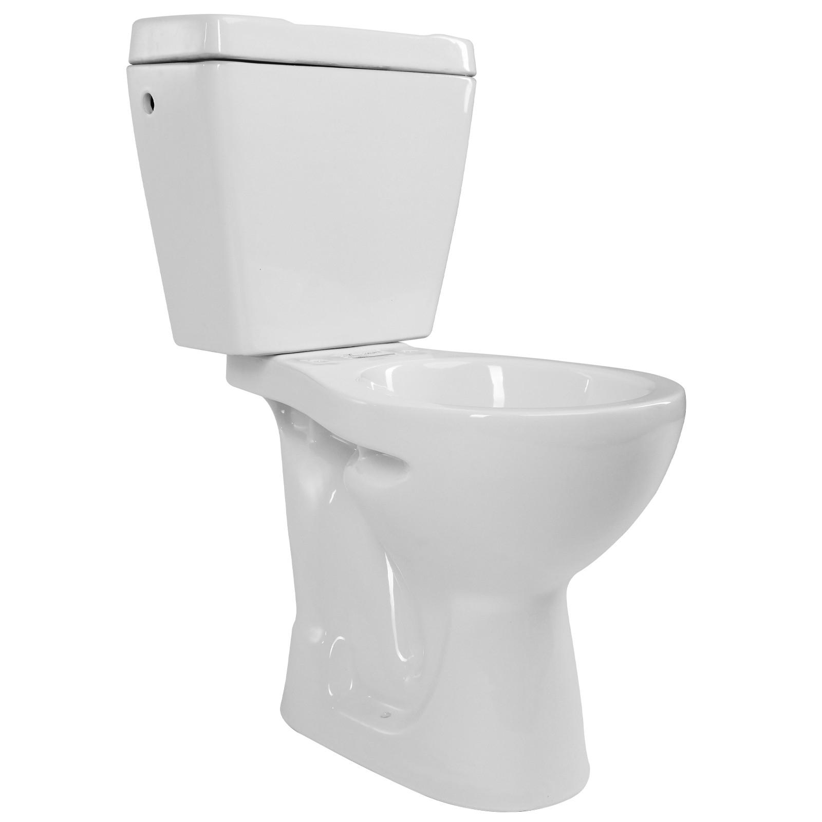 Pack Wc À Sortie Verticale Avec Réservoir Céramique Wc concernant Toilette Sortie Verticale