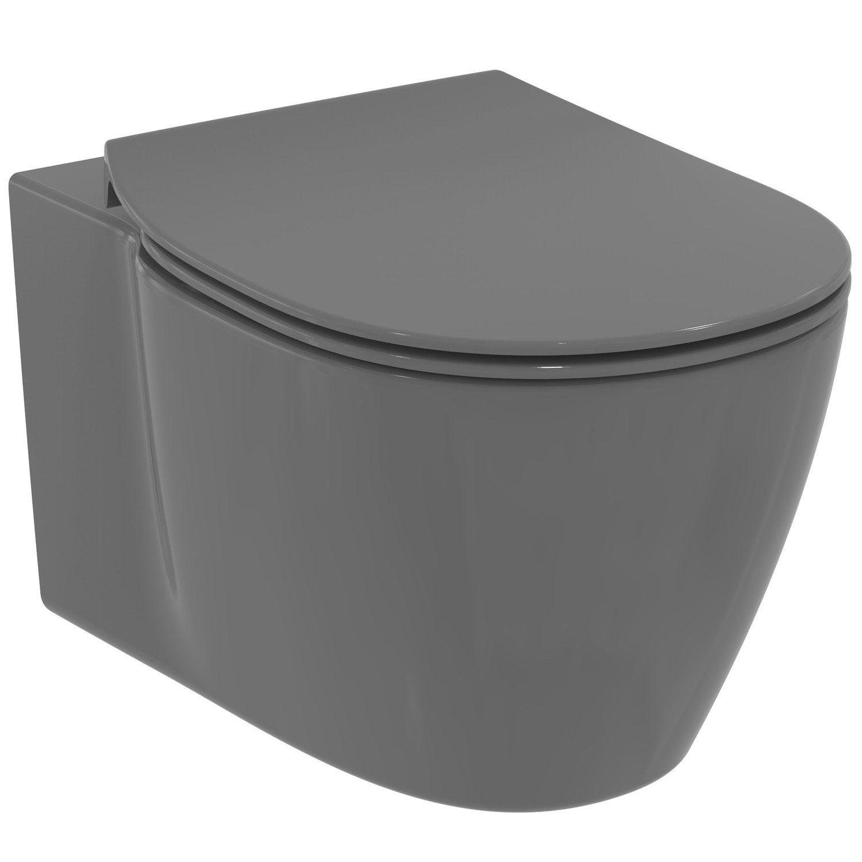 Pack Wc Suspendu Bâti Sol, Ideal Standard Idealsmart concernant Toilette Suspendu Leroy Merlin