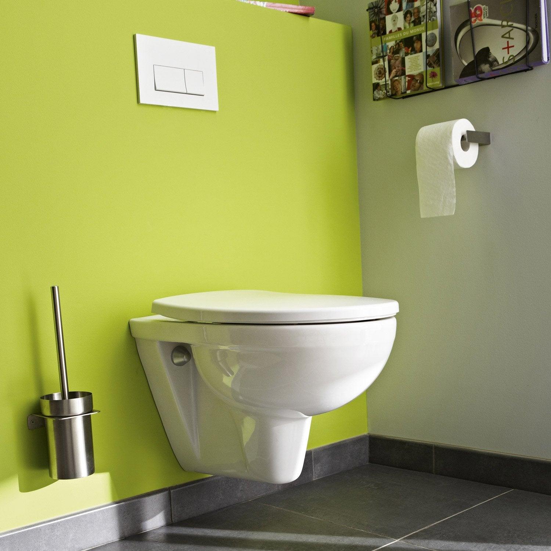 Pack Wc Suspendu Bâti Universel Club Design 2 Pieds encequiconcerne Toilettes Suspendus