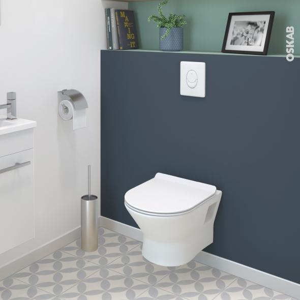 Pack Wc Suspendu Bâti Universel Rapid Sl Grohe Cuvette pour Toilette Suspendu Grohe