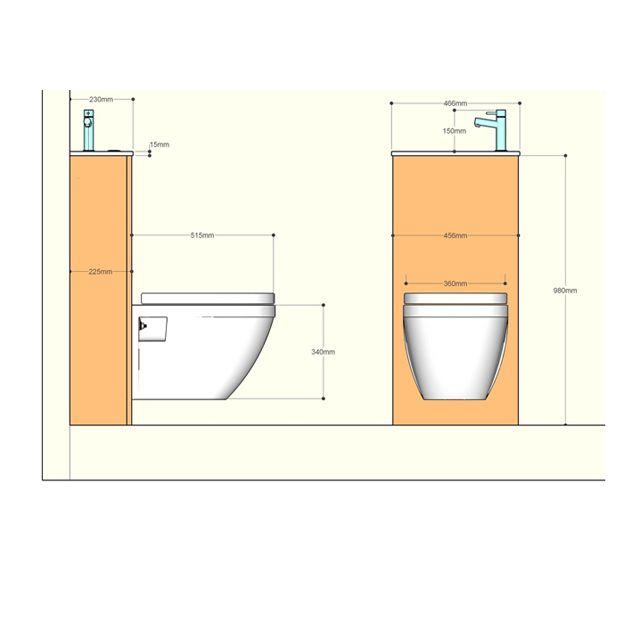 Pack Wc Suspendu Et Lave-Mains Duo | Toilette Suspendu, Wc intérieur Toilette Suspendu Castorama