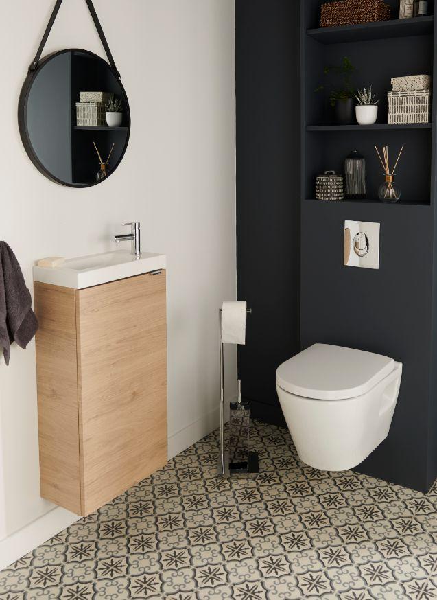 Pack Wc Suspendu Sans Bride Solido Harmony En 2020 | Wc pour Toilette Suspendu Castorama