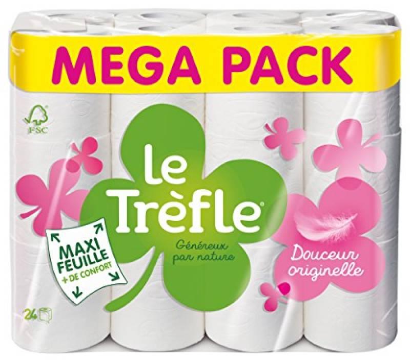 Papier Toilette Lotus Confort -> Faire Des Affaires destiné Trefle Papier Toilette