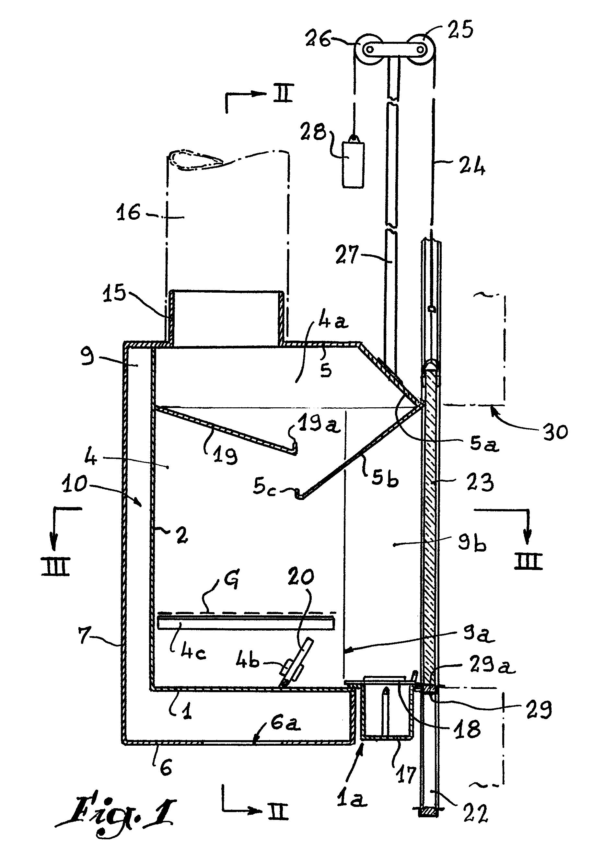 Patent Ep0143724A1 - Foyer Pour Cheminée Mixte Destiné À tout Avaloir Cheminée
