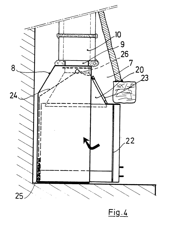 Patent Ep0232667A1 - Foyer Encastrable Pour Cheminée pour Avaloir Cheminée