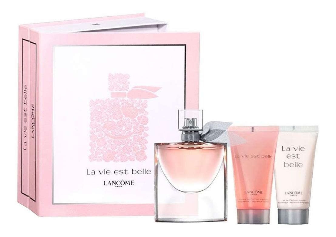 Perfume La Vie Est Belle Edp 50Ml Body Lotion Shower Gel dedans La Vie Est Belle Gel Douche