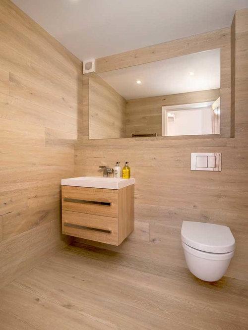 Photos Et Idées Déco De Wc Et Toilettes Avec Des Portes De concernant Placard Pour Toilette