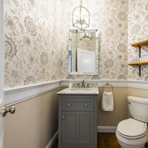 Photos Et Idées Déco De Wc Et Toilettes Romantiques concernant Placard Toilette