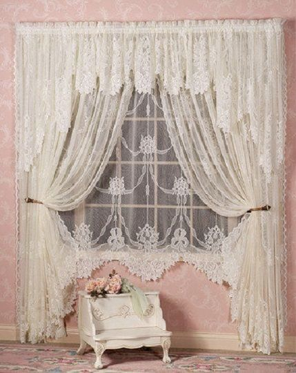 Pin By Yasmeen Zaki On Colour | Shabby Chic Curtains encequiconcerne Rideaux Shabby Chic