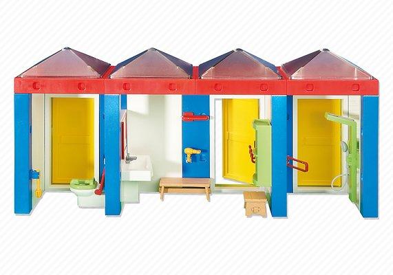 Playmobil 6450 - Toilettes Mobiles - Abapri France tout Toilettes Mobiles Prix