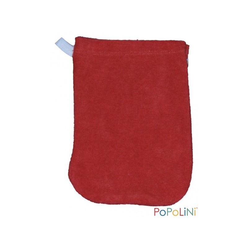 Popolini – Gant De Toilette Enfant Coton Bio – Cayenne intérieur Gant Toilette Enfant