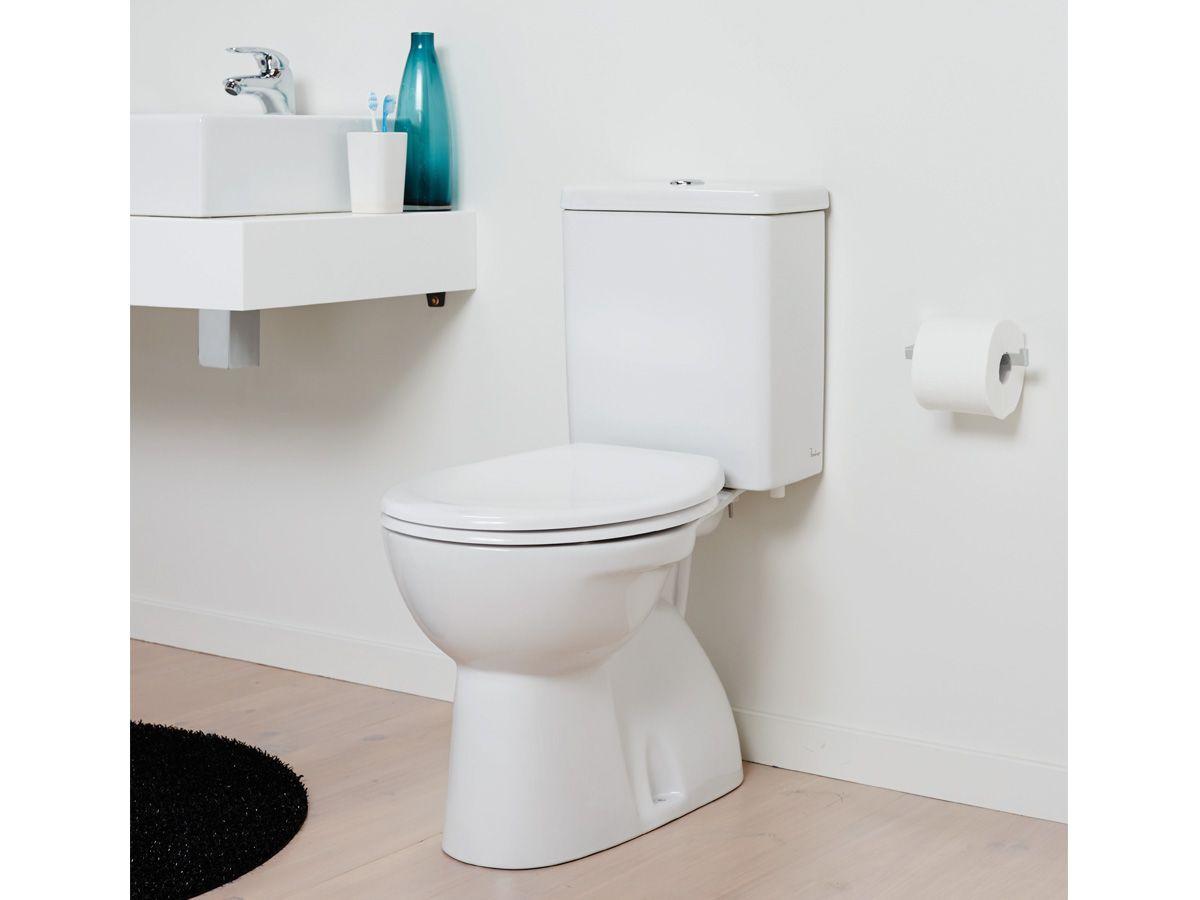Porcher Quatre Close Coupled Toilet Suite   Toilet Suites intérieur Toilette Porcher