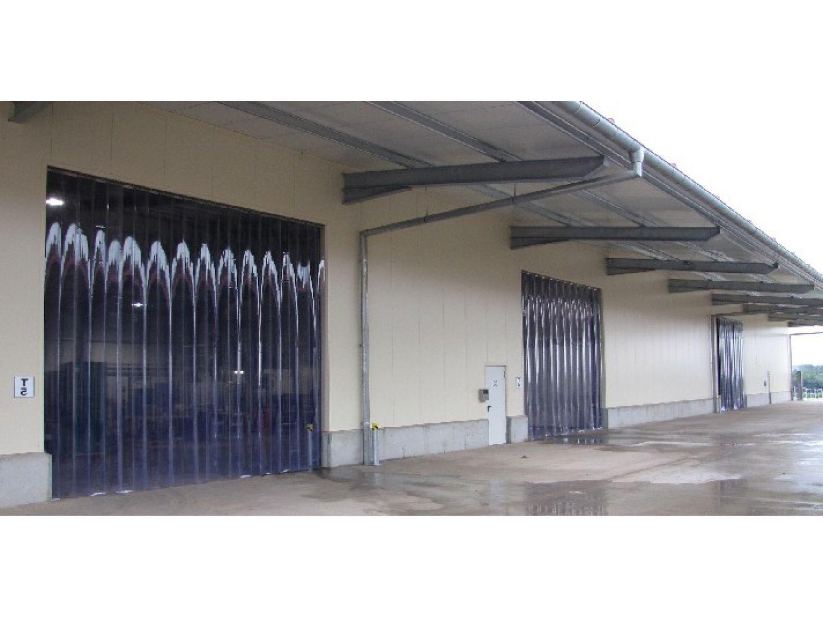 Porte À Lanières, Rideau Industriel   Pvc Souple   Hellopro.fr intérieur Rideau En Plastique Exterieur