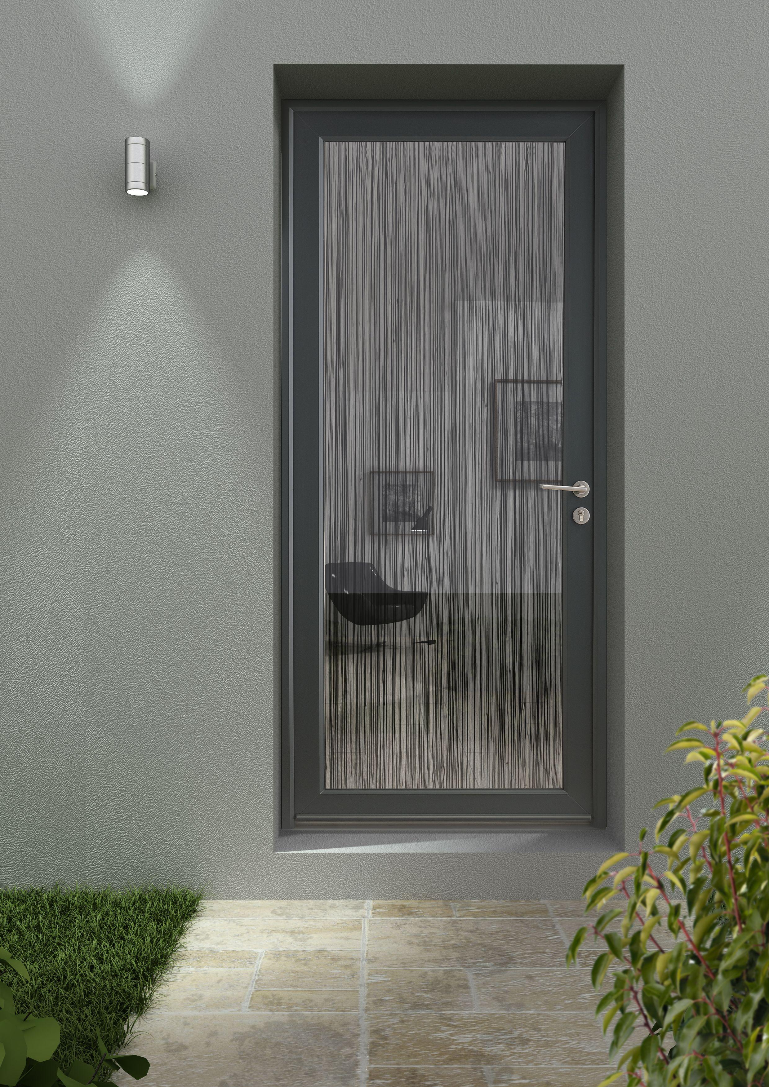 Porte D'Entrée De Créateur En Pvc, Type Rideau De Fil avec Rideau De Porte Exterieur