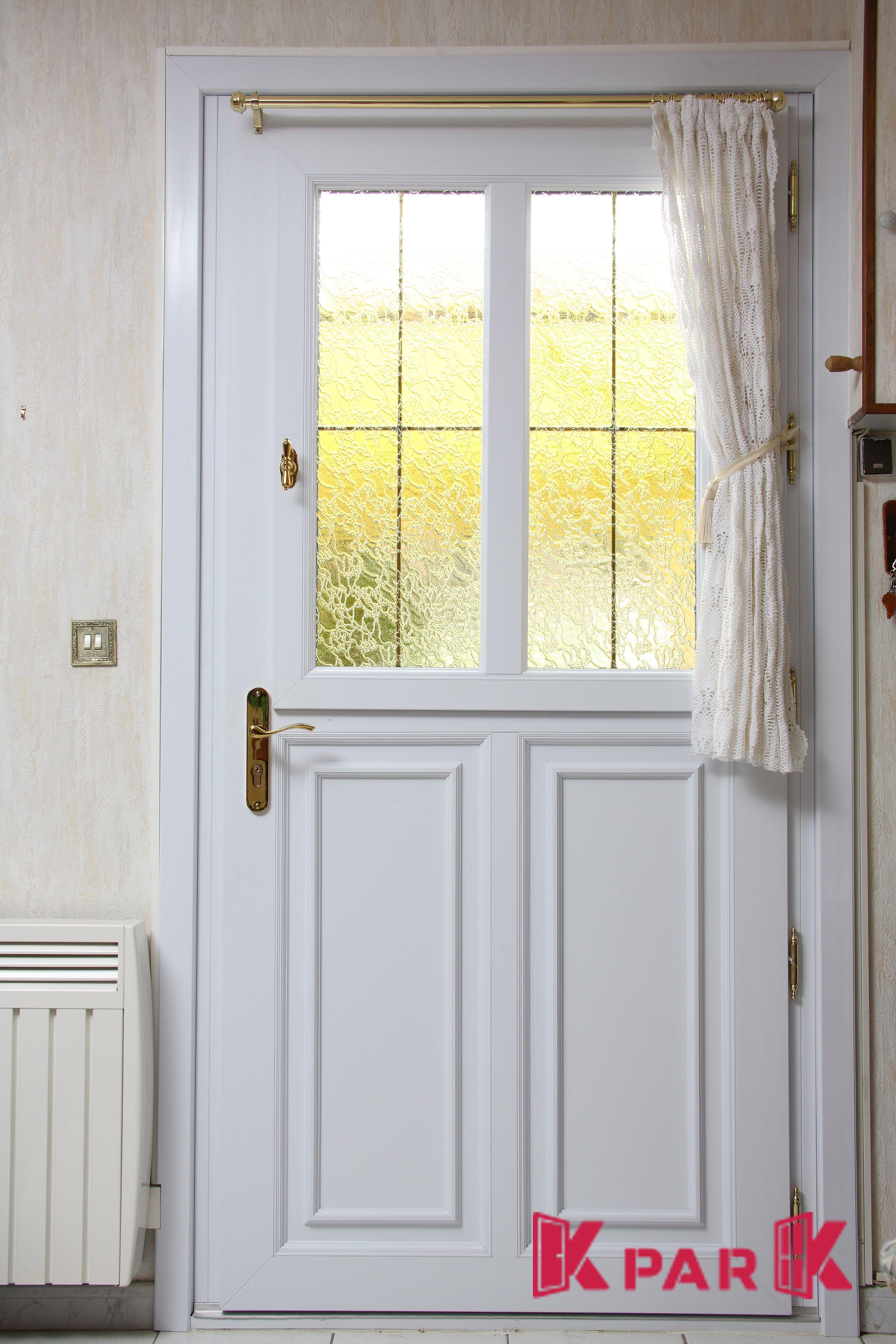 Porte D'Entrée Vitrée Pvc Modèle Corot (Avec Images serapportantà Rideau De Porte D Entrée