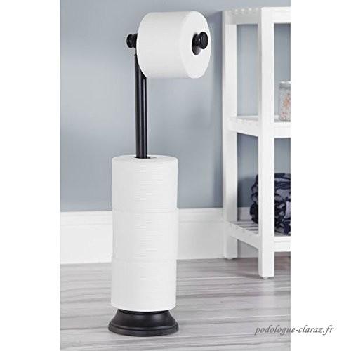 Porte Papier De Toilette Mdesign Autonome - Distributeur tout Porte Papier Toilette Sur Pied