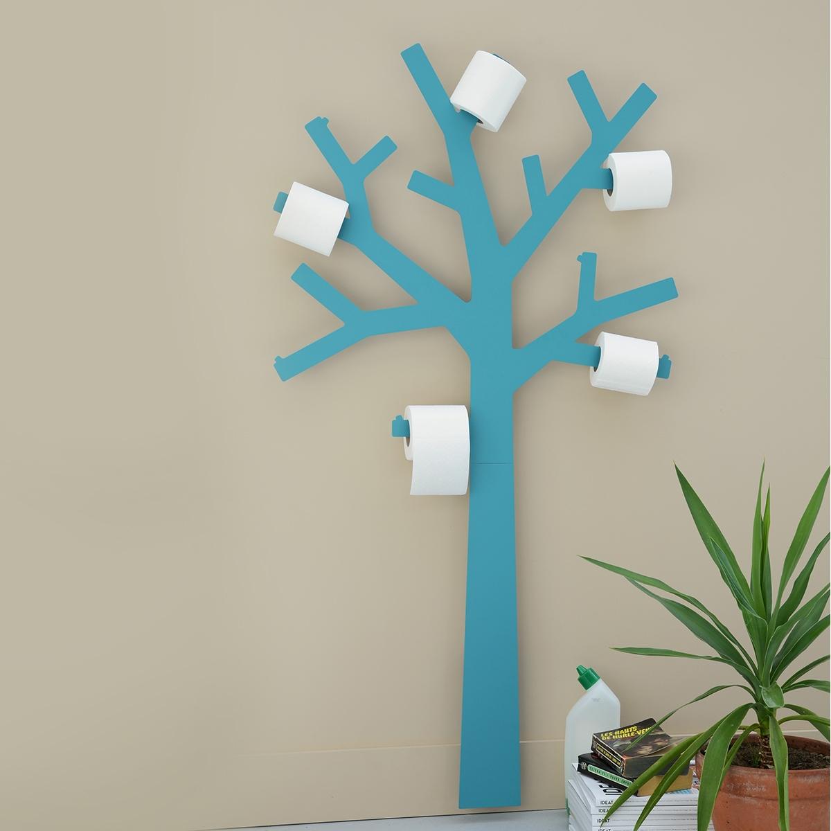 Porte-Papier Toilette De Presse Citron - Zendart Design pour Porte Papier Toilette Design