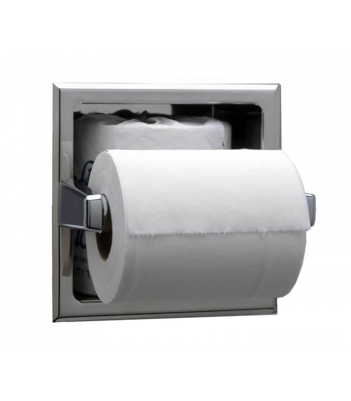 Porte-Papier Toilette Encastré avec Porte Papier Toilette Original