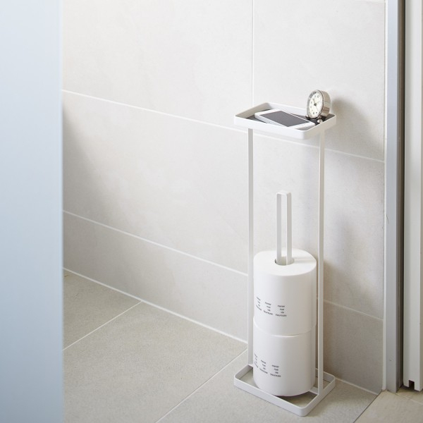 Porte Papier Toilette Originale - Acessoires Wc Yamazaki encequiconcerne Porte Papier Toilette Original