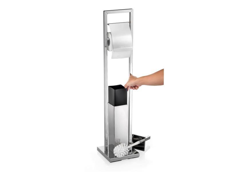 Porte-Papier Toilette Renate Support Sur Pied Pour Papier à Porte Papier Toilette Sur Pied