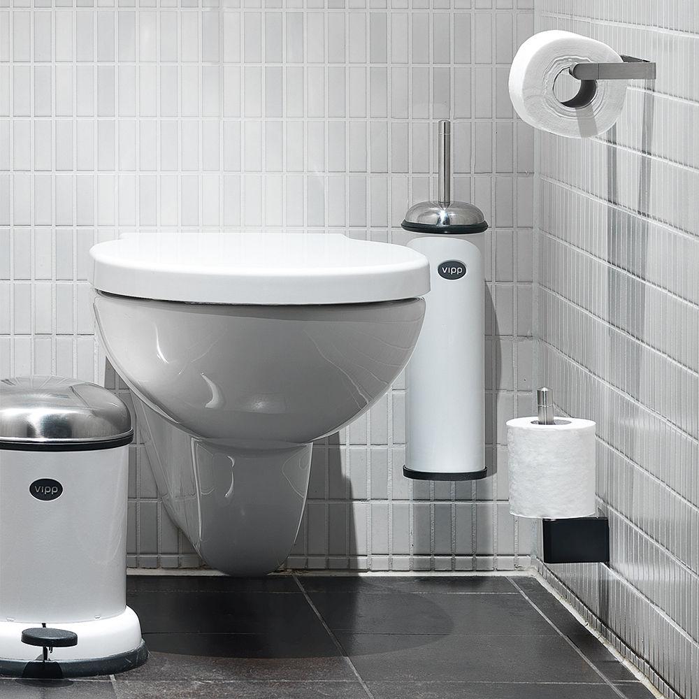 Porte-Rouleau Papier Toilette Vipp 4 Pour Rouleau De encequiconcerne Porte Papier Toilette Design